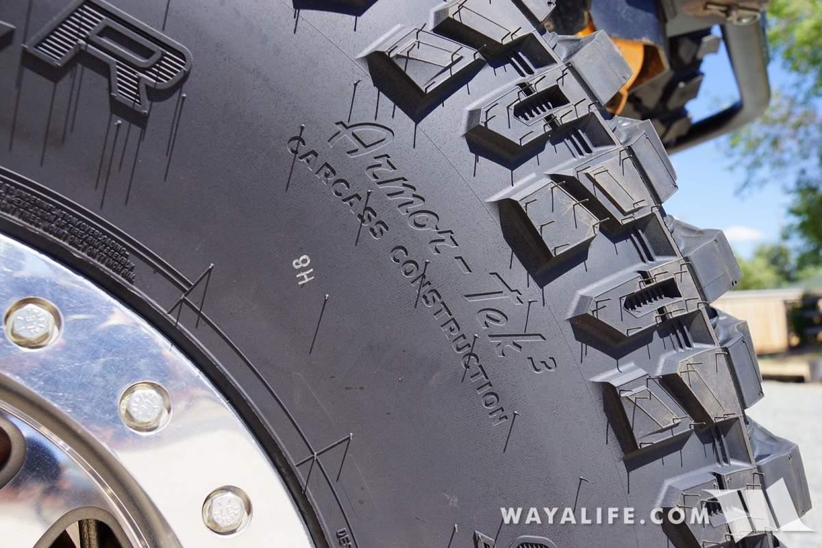 rubicat movin on up to 40x13 50r17 cooper discoverer stt pro m t tires