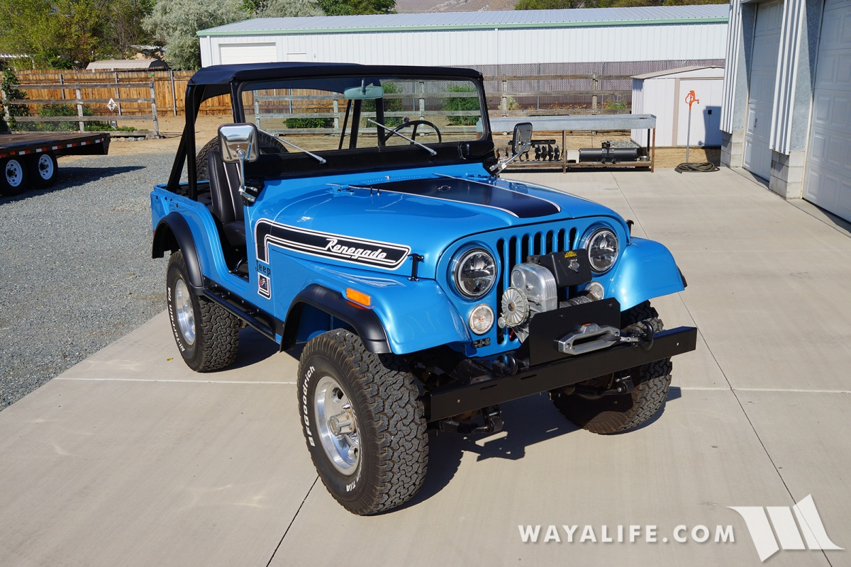 WAYALIFE 1974 Jeep CJ5 Renegade