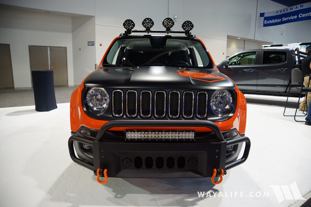 2017 sema motor city jeep renegade if youre a fan of the renegade or not this thing was worth giving a look aloadofball Images