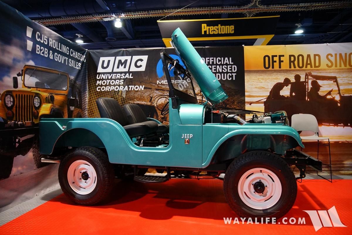 Best Side By Side Utv >> 2017 SEMA UMC Universal Motor Company Teal Metallic Jeep CJ-5
