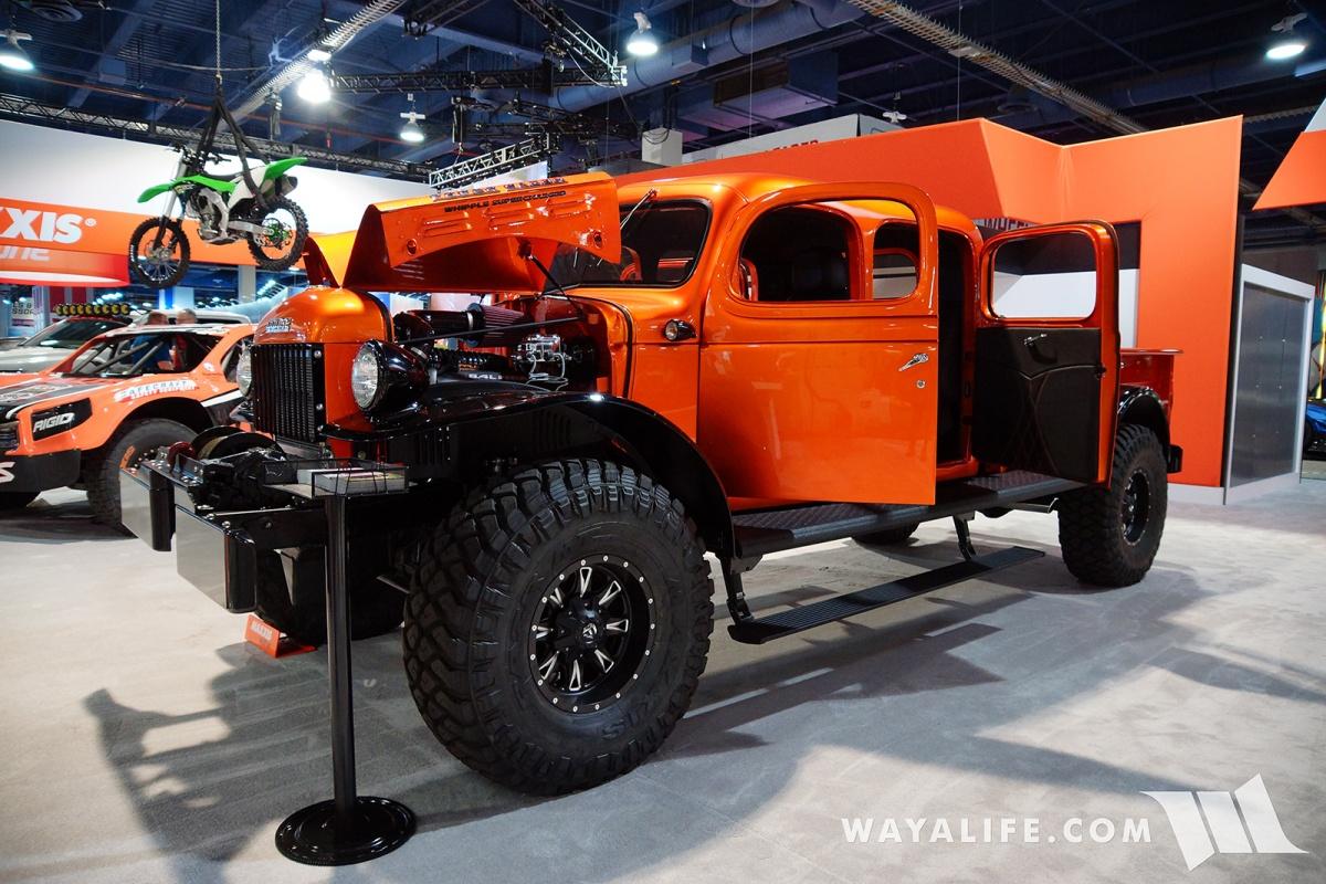 2017 SEMA Maxxis Orange Dodge Power Wagon Crew Cab