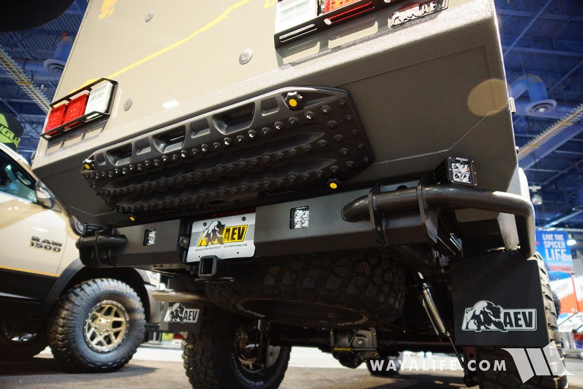 Wrangler Unlimited Rubicon >> 2017 SEMA AEV Outpost II Jeep JK Wrangler Camper