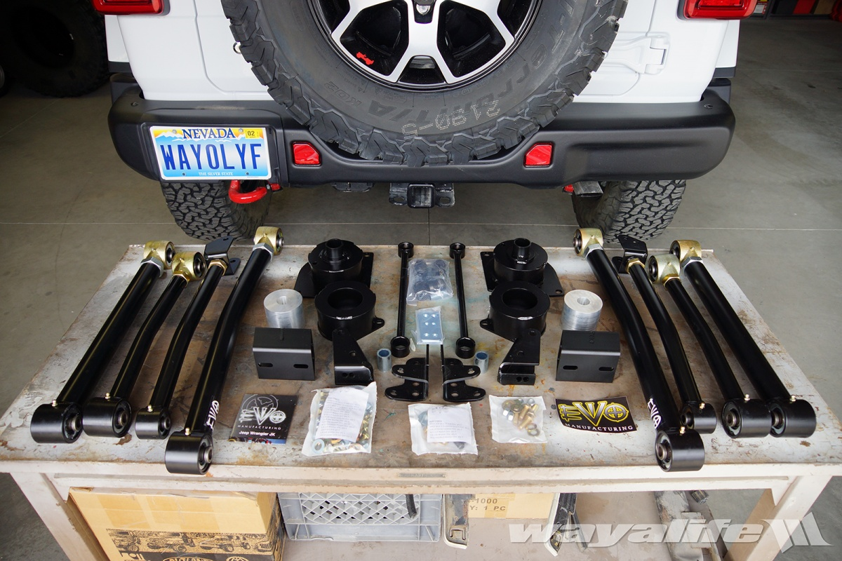 Jeep JL Wrangler EVO MFG 2.5