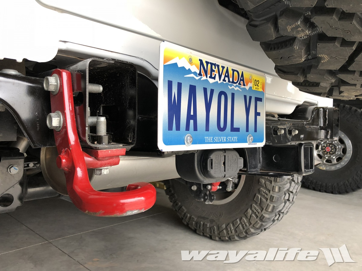 Being That The All New Jeep JL Wrangler Is Designed With A License Plate  Holder Thatu0027s A Part Of The Rear Bumper Itself, The Question Of Where To  Mount The ...