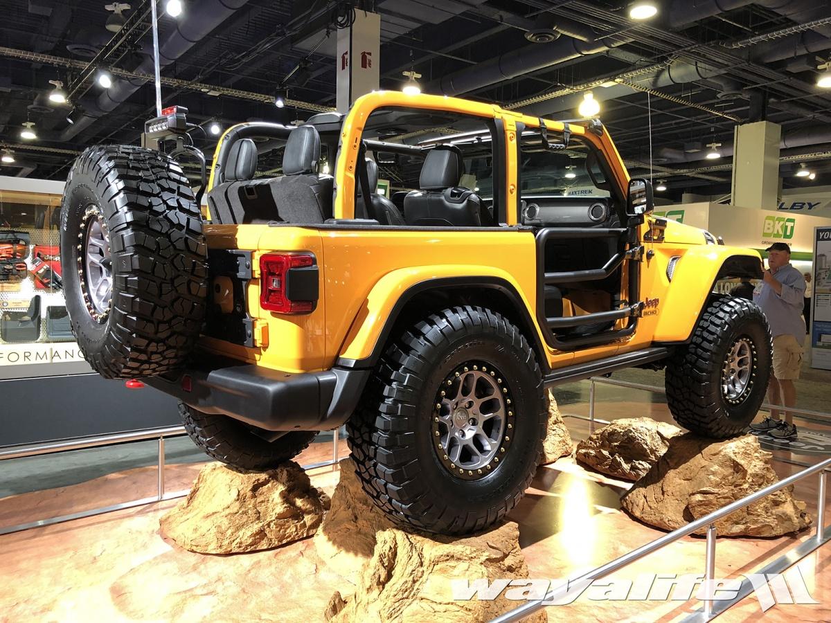 jeep wrangler jl door nacho sema rubicon gladiator jt