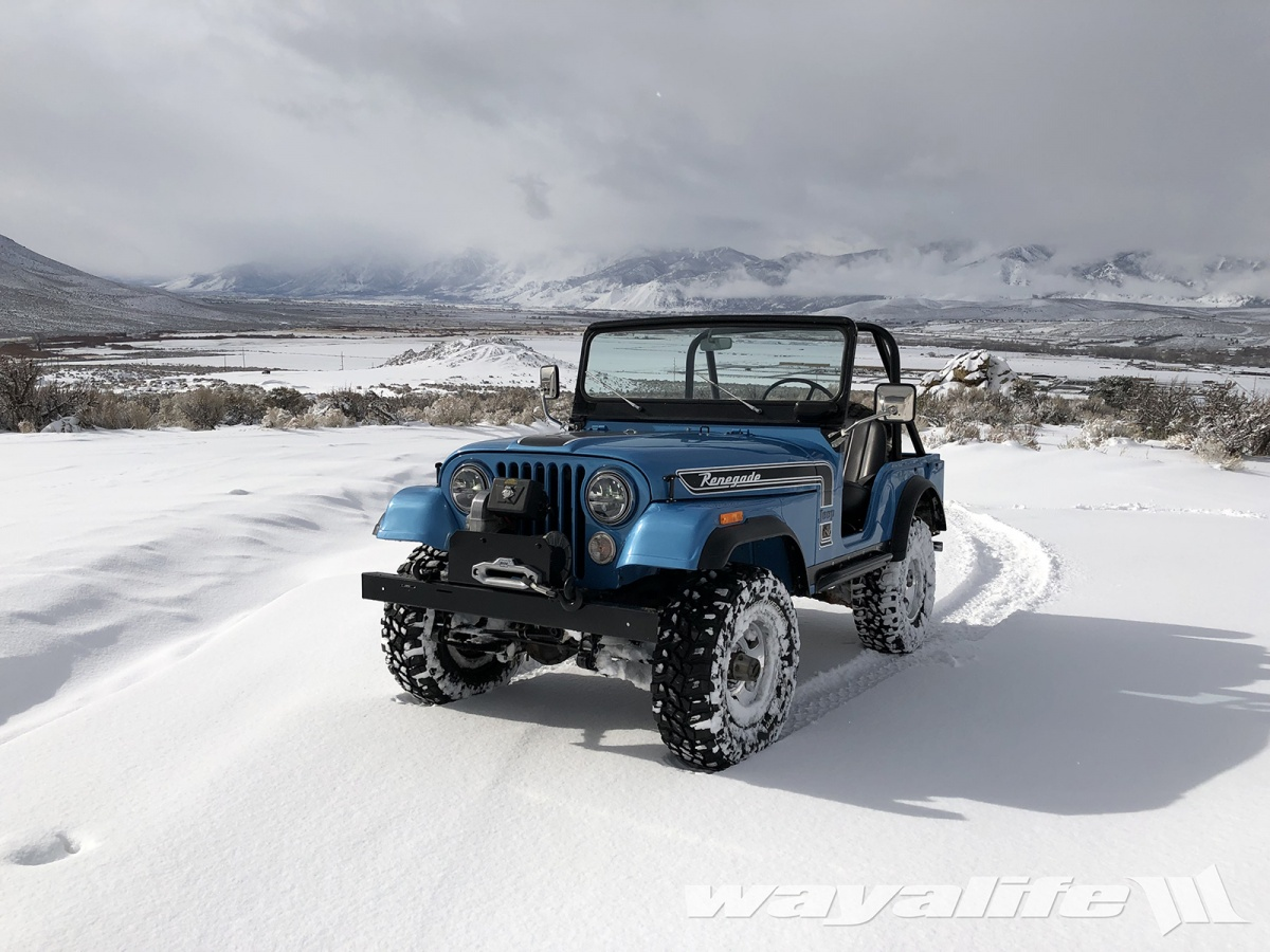 CALAMITY JANE : 1974 CJ-5 Renegade in the Snow