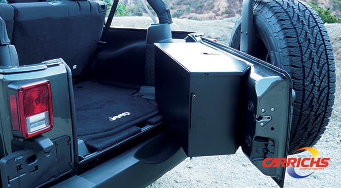 Wayalife Exclusive Carrichs Jk Tailgate Lock Box Special