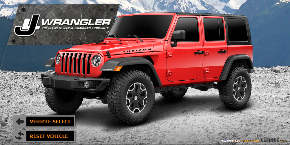 What Color Will You Be Getting For Your Jl Wrangler