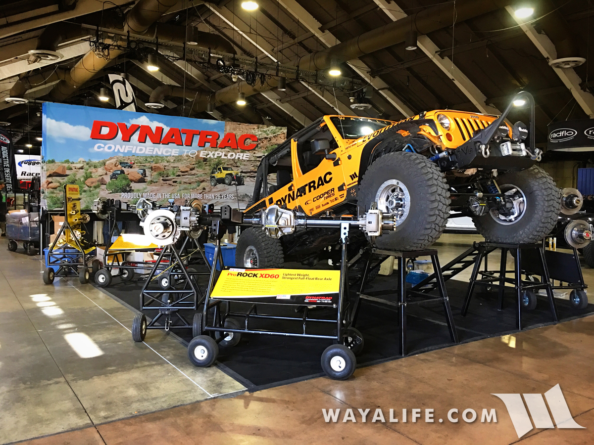 WAYALIFE Rubicat 2017 Off-Road Expo Dynatrac display