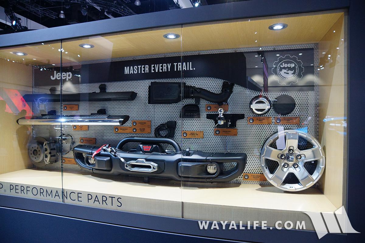 2017 La Auto Show Jeep Jl Wrangler Pre Show Pics Amp Mopar