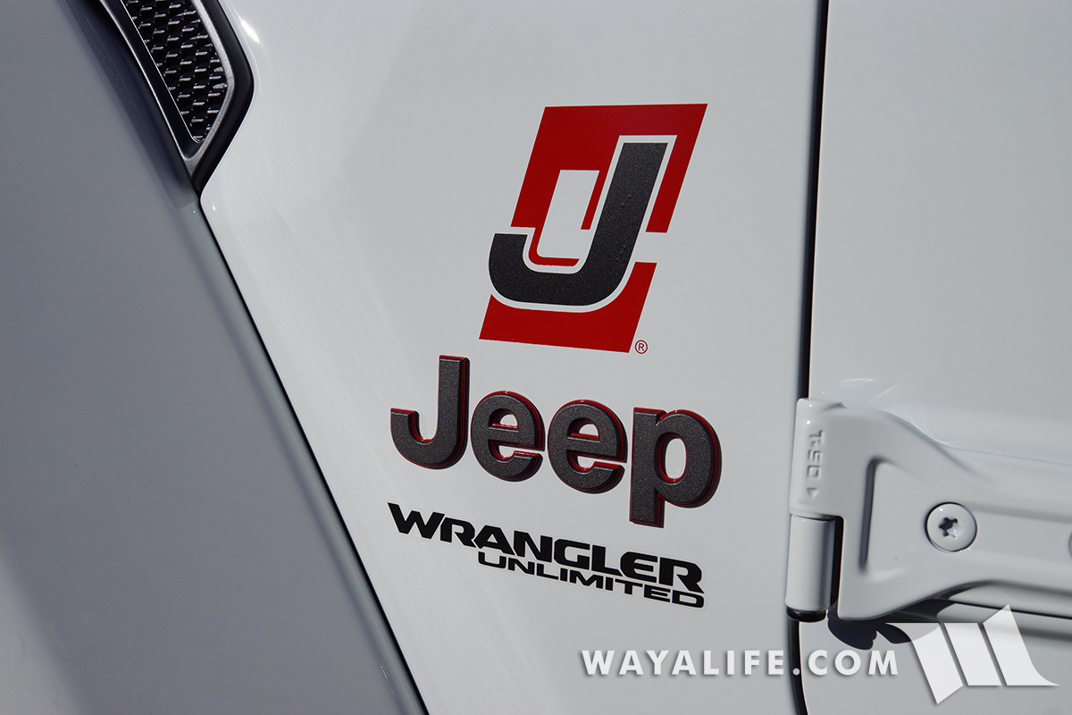 STICKERED UP : JET Li Wearing Official JLWRANGLER com Decals