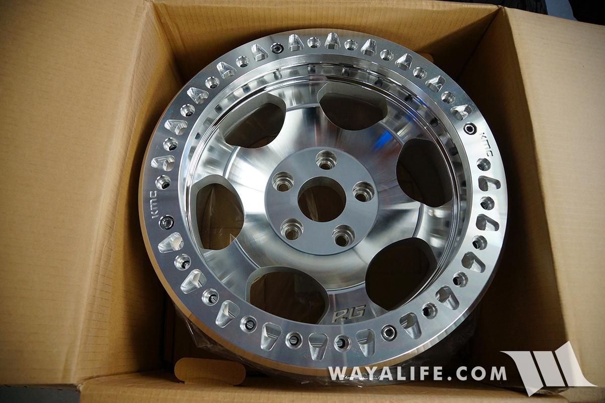 KMC XD231 RG RACE Beadlock Wheels